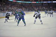 Mecz hokeja fotografia stock