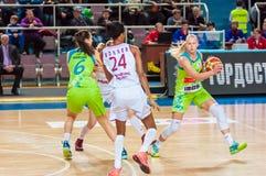 Mecz koszykówki, Obrazy Stock
