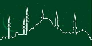meczet ilustracja wektor