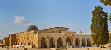 Meczet Al Aksa Jerozolima zdjęcia royalty free