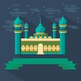 Meczet i faborek Zdjęcie Royalty Free