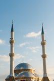 Meczet i minarety Zdjęcia Stock