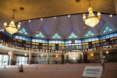 Meczet Kuala Lumpur w Malezja fotografia royalty free