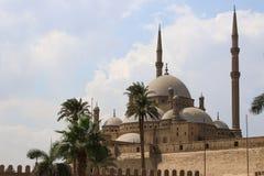 Meczet Muhammad Ali Pasha lub alabaster meczet Egipt Zdjęcia Royalty Free