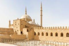Meczet Muhammad Ali w cytadeli Saladin w Starym Cair Obrazy Royalty Free