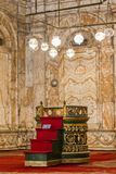 Meczet Muhammad Ali w Egipt obrazy royalty free