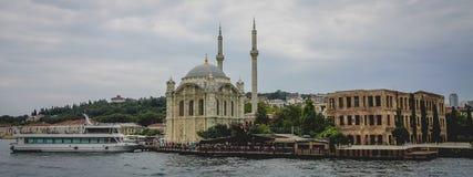 Meczet przy Bosphorus Obraz Royalty Free
