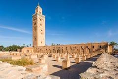 Meczet przy Marrakech, Maroko obraz stock