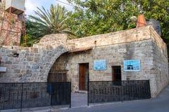 Meczet w jubail mieście w Lebanon obrazy stock