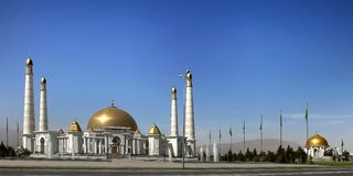 Meczet w Kipchak i mauzoleumu Niyazov Zdjęcie Stock