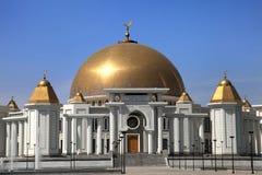 Meczet w Kipchak. Mauzoleum były prezydent Zdjęcia Royalty Free