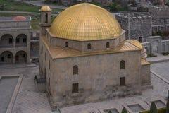 Meczet w orientalnym kompleksie rabati kasztel obrazy royalty free