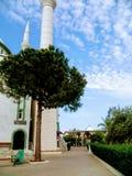 Meczet w stronie Fotografia Stock