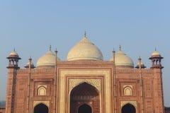 Meczet w Taj Mahal India Fotografia Stock