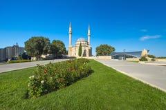 Meczet w wyżu parku Obrazy Stock