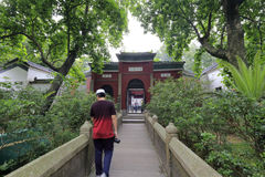 Meczetowi duchowieństwa w Guangzhou xianxiansi meczecie fotografia stock