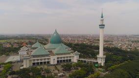 Meczetowy Al Akbar w Surabaya Indonezja zbiory wideo