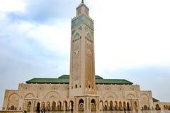 Meczetowy Casablanca, królewiątka Hassan II meczet, Casablanca, Maroko Fotografia Royalty Free