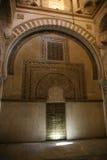 Meczetowy cordoby drzwi Zdjęcia Royalty Free