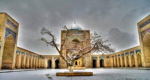 Meczetowy Kalyan i po kompleks, Bukhara, Uzbekistan obrazy stock