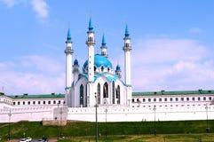 Meczetowy Kul-Sharif, Kazan Kremlin Zdjęcia Royalty Free