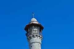 Meczetowy minaret w Tel Aviv Fotografia Stock