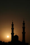 meczetowy słońca Obrazy Royalty Free