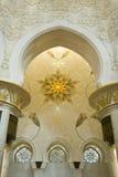 meczetowy shaikh zayed Obrazy Stock