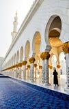 meczetowy sheikh zayed Zdjęcie Stock