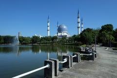 Meczetowy sułtan Salahuddin Abdul Aziz Shah Selangor Malezja Zdjęcia Stock