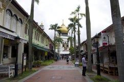 meczetowy sułtan Singapore Zdjęcie Royalty Free
