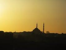 meczetowy suleymaniye obraz royalty free