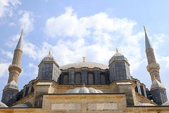 Meczety i minaret zdjęcie royalty free