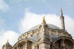 Meczety i minaret fotografia royalty free