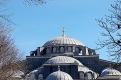 Meczety i niebieskie niebo zdjęcia stock