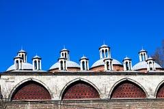 Meczety i niebieskie niebo zdjęcie royalty free