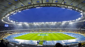 Meczu futbolowego FC dynamo Kyiv vs Shakhtar Donetsk