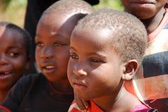 Med ögonen av Afrika berg Kilolo, Tanzania Afrika 01 Royaltyfri Foto