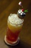 Med is drink med grapefrukten Royaltyfri Foto