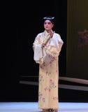 """Med en fan av den västra Chamber†för forskare-nischZhang Junrui-Kunqu Opera """"the en Royaltyfria Foton"""