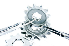 Med gears Royalty Free Stock Photos