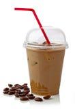Med is kaffe Fotografering för Bildbyråer