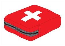 Med Kit. Isolated on white background, illustrated Stock Image