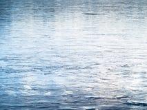 Med is sjöyttersidatextur, bakgrund Arkivbilder