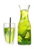 Med is te för citron Arkivfoto