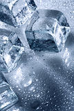 Is med vattenliten droppe Royaltyfria Foton