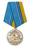 Medaglia 100 anni di aviazione navale Fotografia Stock
