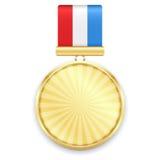 Medaglia d'oro Fotografie Stock