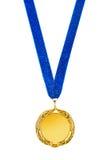 Medaglia d'oro Immagine Stock Libera da Diritti