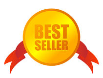Medaglia del bestseller Immagine Stock